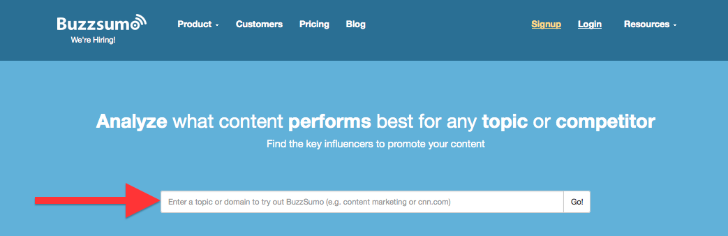 3 Quick and Easy Ways to Do Blogging Research Using BuzzSumo