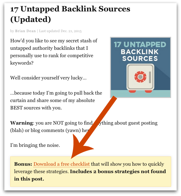 How to Build a Massive Mailing List by Adding Content Upgrades to Your Site