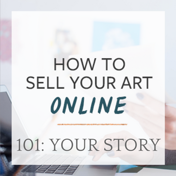 How to Sell Your Art Sample Sales Page