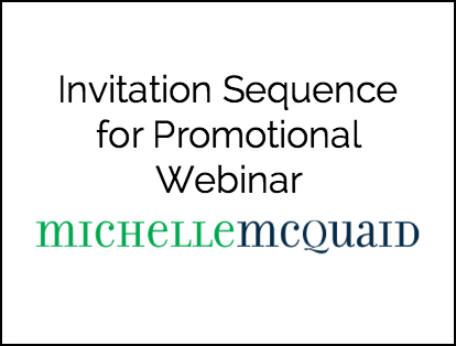 Webinar Invitation Sequence